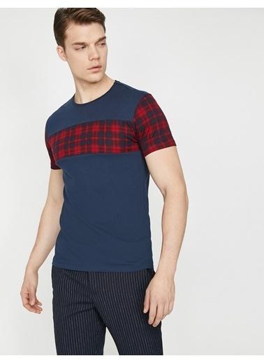 Koton Kareli T-Shirt Lacivert